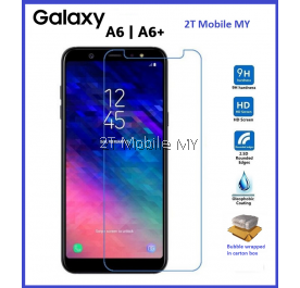 Samsung Galaxy A6 / A6 Plus 2018 Tempered Glass Screen Protector 2.5D