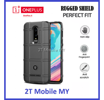 OnePlus 6 1+6 Full Protection Armor Rugged Shied Bumper TPU Case Cover