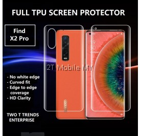 Oppo Find X2 Pro / Find X Full Coverage Screen Protector 3D Soft Film Hydrogel Front Back