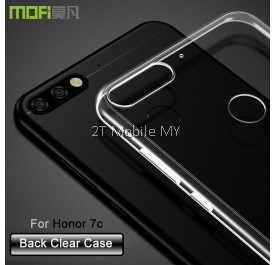 Huawei Honor 7C Soft Transparent Case Slim TPU Cover