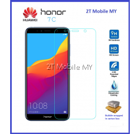 Huawei Honor 7C Tempered Glass Screen Protector 2.5D