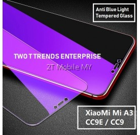 XiaoMi Mi A3 / CC9E / Mi A2 Lite Full Anti Blue Light Ray Tempered Glass Screen Protector