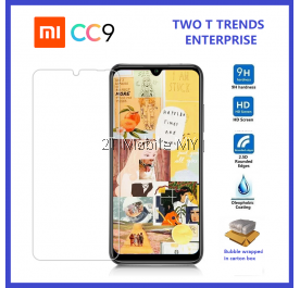 XiaoMi Mi A3 / CC9E / CC9 / Mi A2 Lite Tempered Glass Screen Protector 2.5D