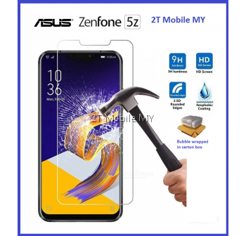 Asus ZenFone 5z ZS620KL Tempered Glass Screen Protector 2.5D