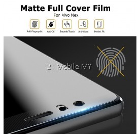 Vivo NEX Front Back Matte Anti-Fingerprint Full Coverage 3D Screen Protector