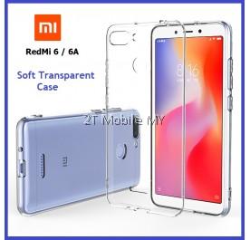 XiaoMi RedMi 6 / RedMi 6A Soft Transparent Case Slim TPU Cover