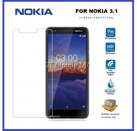 Nokia 3.1 Tempered Glass Screen Protector 2.5D