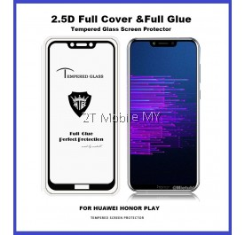Huawei Honor Play Full Glue Coverage Tempered Glass Screen Protector