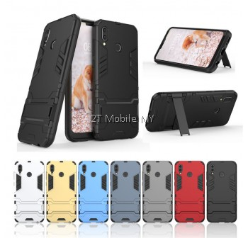 (PROMO) Huawei Honor Play Ironman Transformer Kickstand Trendy Case Bumper Cover
