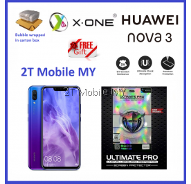 Huawei Nova 3 / Nova 3i X-One Ultimate Pro Shock Screen Protector