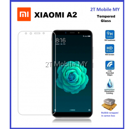 XiaoMi Mi A2 / RedMi 6X Tempered Glass Screen Protector 2.5D