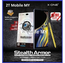 Samsung Note 9 X-One Case Friendly Seamless Stealth Armor Screen Protector