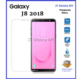 Samsung Galaxy J8 2018 Tempered Glass Screen Protector 2.5D