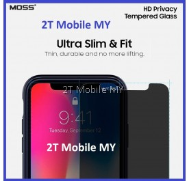 MOSS Privacy 9H Tempered Glass Apple Iphone X IPhone 8 IPhone 7 Plus IPhone 6 5