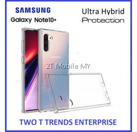 Samsung Galaxy Note 10 Plus / Note 10+ / Note 9 Air Hybrid TPU Case Slim Bumper Fusion Cover