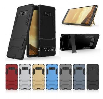 (PROMO) Samsung Galaxy Note 9 Ironman Transformer Kickstand Trendy Bumper Case