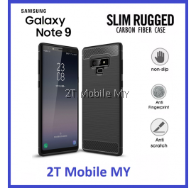 Samsung Galaxy Note 9 Slim Fit Rugged Armor Bumper TPU Case Cover