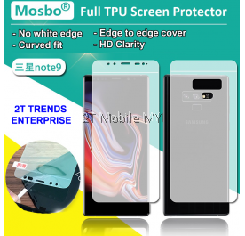 Samsung Galaxy Note 9 Front Back Full Coverage Screen Protector 3D Film