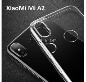 XiaoMi Mi A2 Soft Transparent Case Slim TPU Cover