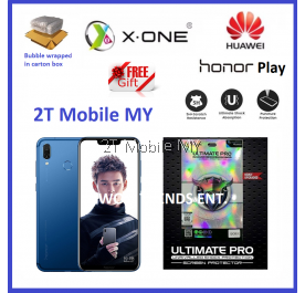Huawei Honor Play X-One Ultimate Pro Shock Screen Protector Upgraded