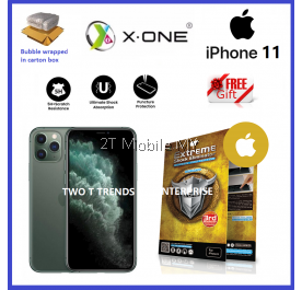 Apple iPhone 12 / 12 Max / 12 Pro / 12 Pro Mini / iPhone 11 / XS X-One Extreme Shock Eliminator Screen Protector 3rd Gen