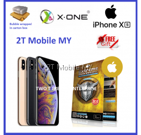 Apple iPhone XS XR XS Max X-One Extreme Shock Eliminator Screen Protector 3rd Gen