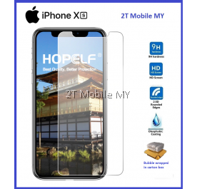 Apple iPhone XS XR XS Max Tempered Glass Screen Protector 2.5D