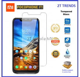 XiaoMi Pocophone F1 Tempered Glass Screen Protector 2.5D