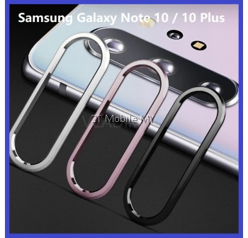 Samsung Galaxy Note 10 / Note 10 Plus / Note 10+ / Note 9 Ring With Camera Tempered Glass Soft Screen Protector