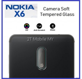 Nokia X6 / 6.1 Plus 2018 Camera Tempered Glass Soft Screen Protector