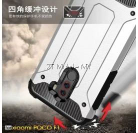 Xiaomi Pocophone F1 Poco F1 Super Tough Armor Bumper Case Cover