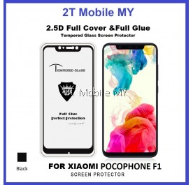 XiaoMi Pocophone F1 Full Glue Coverage Tempered Glass Screen Protector