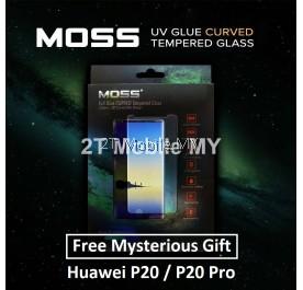 Huawei P20 Pro / P20 MOSS Nano UV Full Glue Tempered Glass Screen Protector 9H