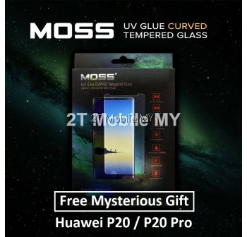 Huawei P20 Pro / P20 MOSS Nano UV Full Glue Tempered Glass Screen Protector 9H