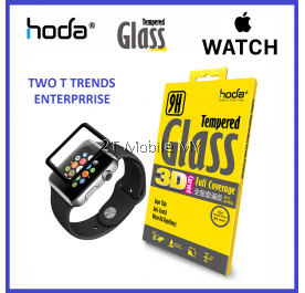 Apple Watch 38mm 42mm Hoda 3D Full 0.33mm 9H Tempered Glass Screen Protector