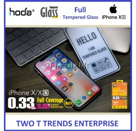 Apple iPhone 11 / 11 Pro / 11 Pro Max / XS Max / XS / X / XR Hoda Matte Anti-Glare Fingerprint Tempered Glass Screen Protector