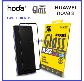 Huawei Nova 3 & Nova 3i Hoda Full 0.33mm Full Tempered Glass Screen Protector