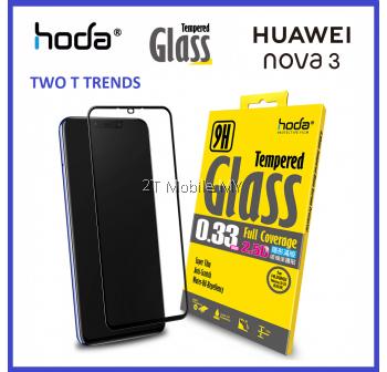 Huawei Nova 3 & Nova 3i Hoda Full 0.33mm Full Tempered Glass Screen Protector