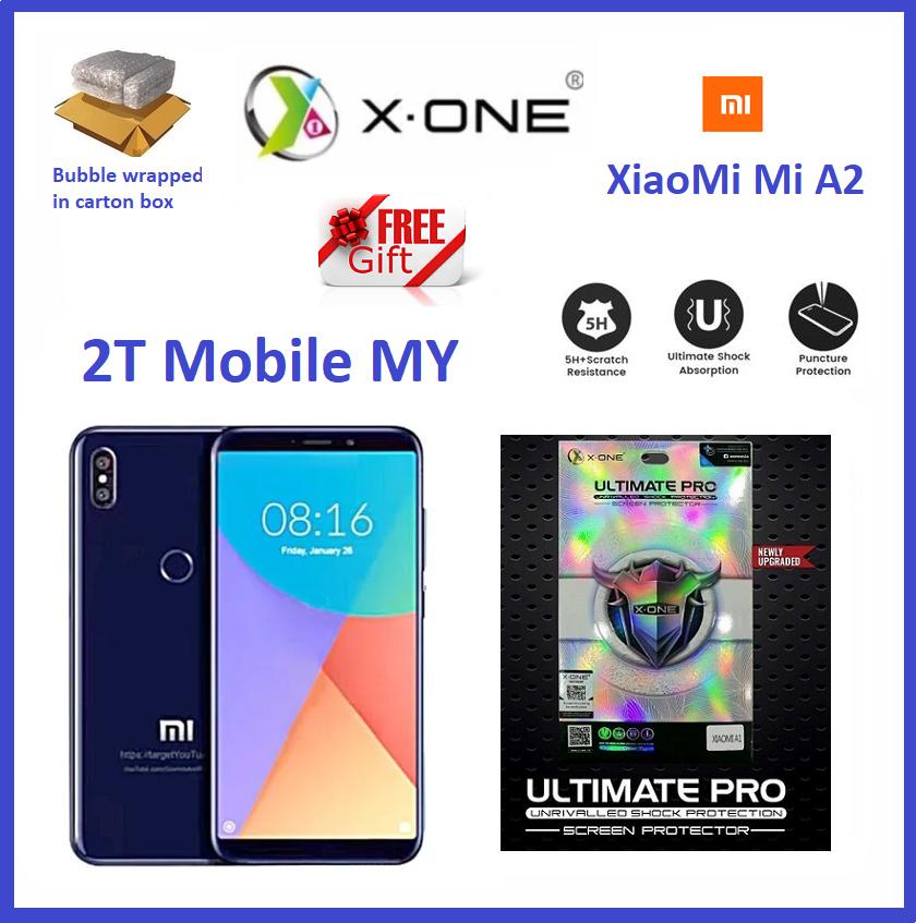 XiaoMi Mi A2 / Mi 6X X-One Ultimate Pro Shock Screen Protector Upgraded