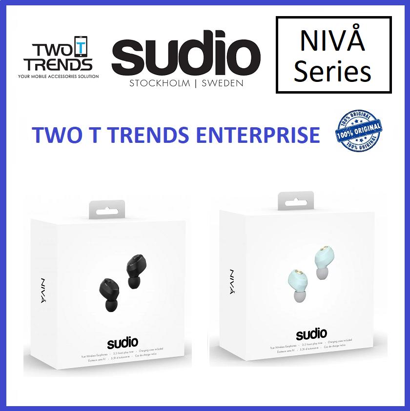 Sudio Niva True Wireless Earbuds Earphone with Charging Case