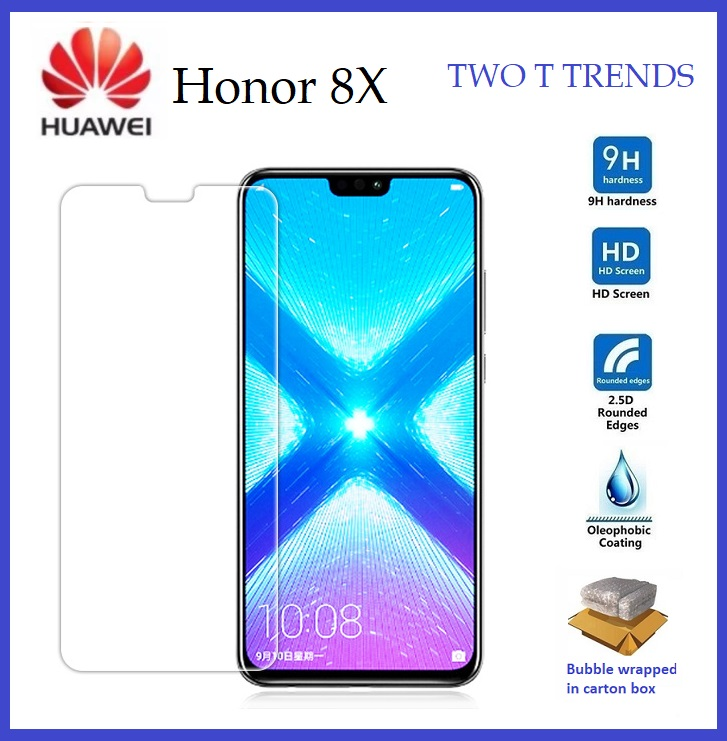 Huawei Honor 8X Tempered Glass Screen Protector 2.5D