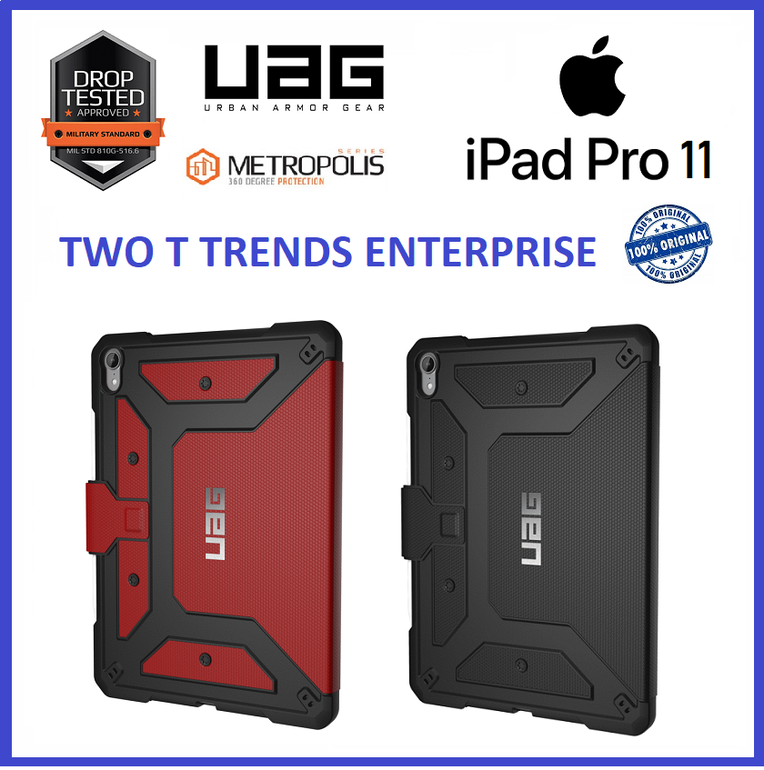 separation shoes 0efb1 ef4b8 Apple iPad Pro 11 2018 UAG Metropolis Flip Case Protective Cover ORI