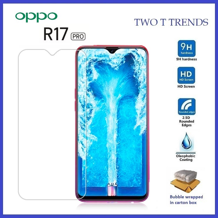 Oppo R17 Pro Tempered Glass Screen Protector 2.5D