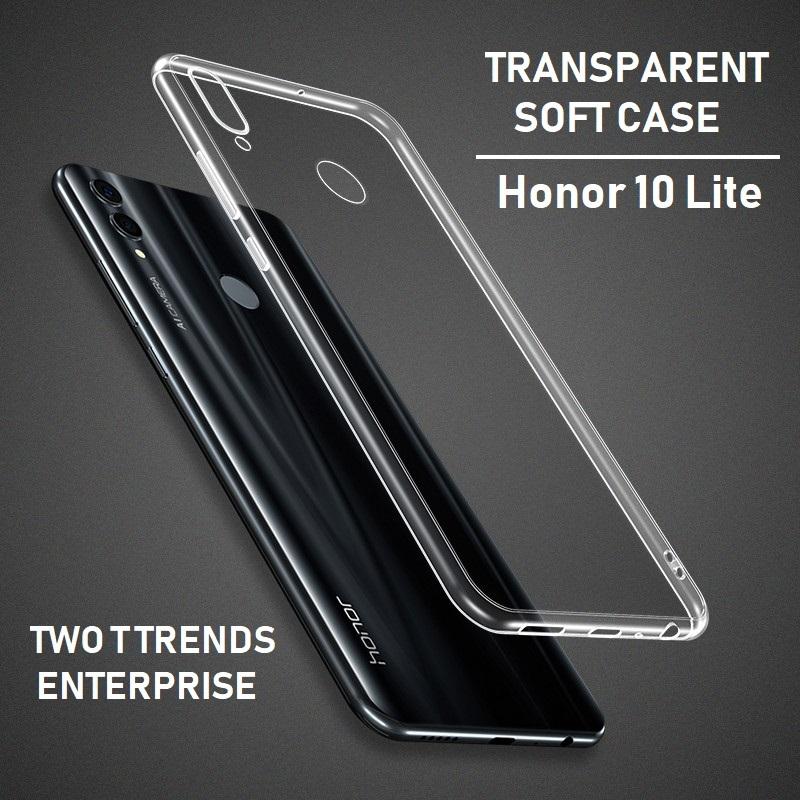 Huawei Honor 10 Lite Soft Transparent Case Slim TPU Cover