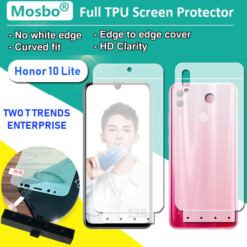 Huawei Honor 10 Lite Front Back Full Coverage 3D Screen Protector