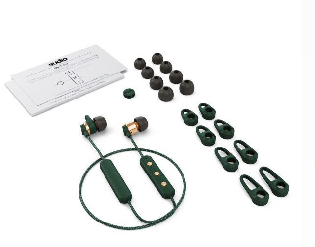 Sudio Tio Wireless Bluetooth W/Mic Earphone Original