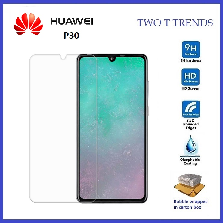 Huawei P30 Full Tempered Glass Screen Protector 2.5D