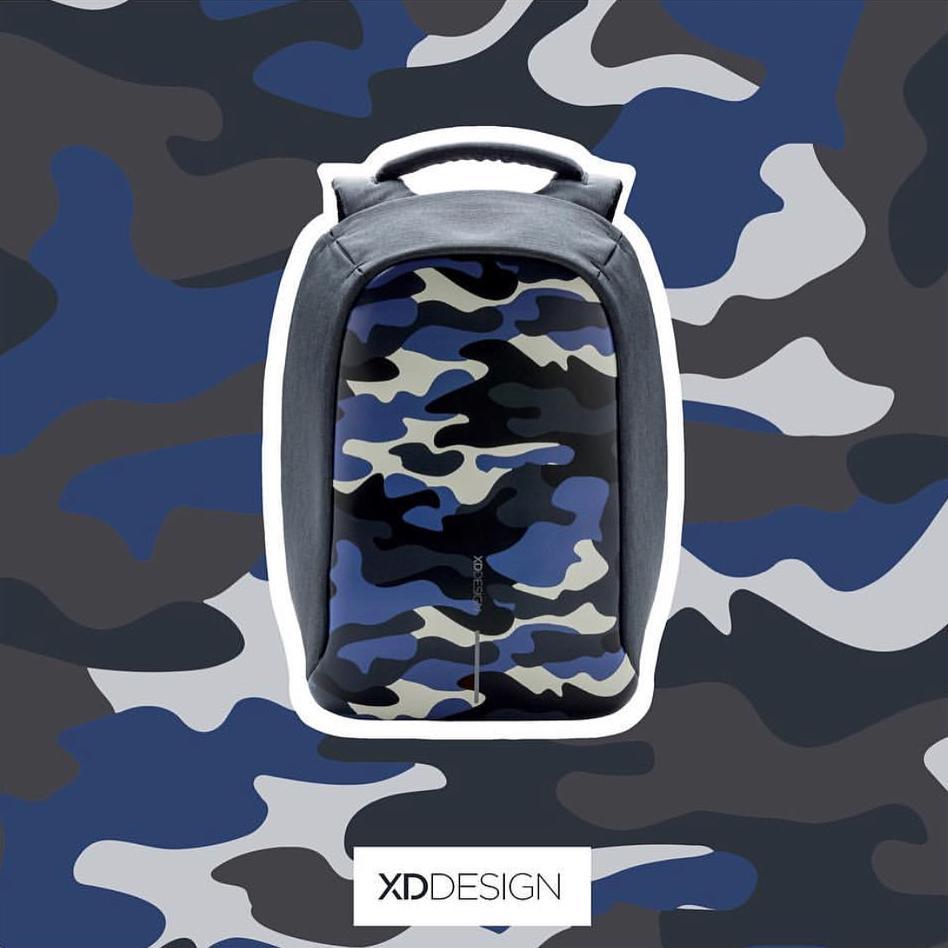 (PROMO) XD Design Bobby Compact / Print Bag FREE PopSocket Best Anti-theft Backpack XDDesign Travel