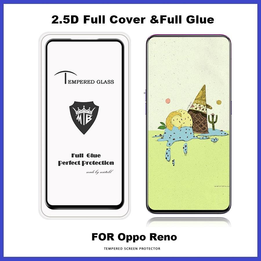 Oppo Reno / R15 Pro / A3S Full Glue Cover Tempered Glass Screen Protector
