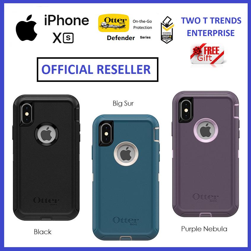 huge discount 17671 7654a Apple iPhone XS / XS Max / XR / X OtterBox Defender Series Case Bumper  Cover ORI